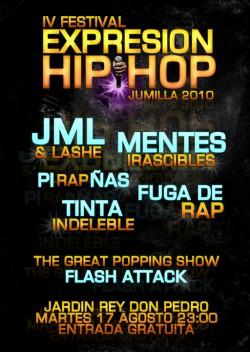 Expresion Hip Hop Jumilla 2010 4ªEd.