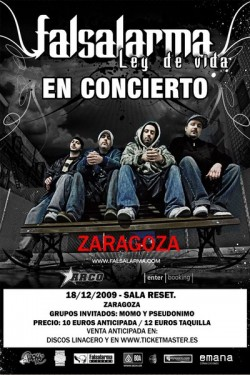 Falsalarma en Zaragoza
