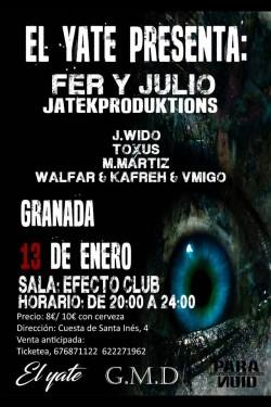 Fer y Julio en Granada