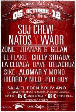 Festival 8H Hip Hop en Palma De Mallorca