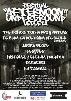 Festival Afternoon Underground en Vegueta, La