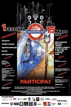 Festival Arte Underground (Sevilla) en Sevilla