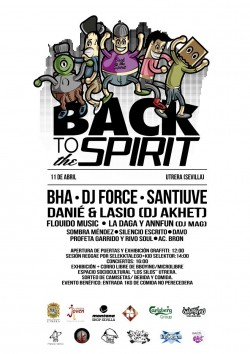 Festival Back To The Spirt en Utrera