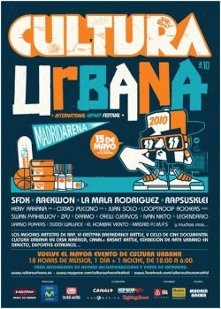Festival Cultura Urbana 2010 en Madrid