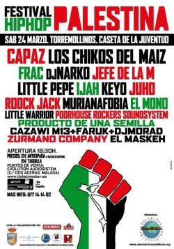 Festival Hip Hop por Palestina en Torremolinos