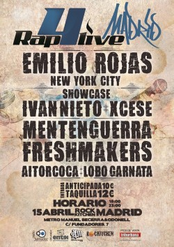Festival rap4live en Madrid