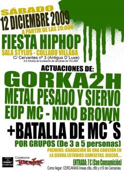 Fiesta Hip Hop Collado Villalba en Madrid