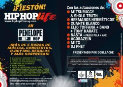 Fiesta Hip Hop Life en Madrid