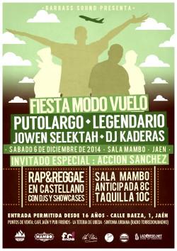 Fiesta Modo Vuelo en Jaén