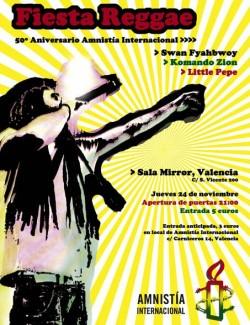 Fiesta Reggae en Valencia