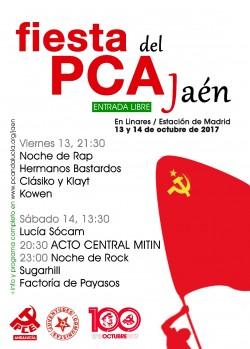 Fiesta del PCA Jaén en Linares