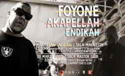 Foyone, Akapellah y Endikah en Santiago De Compostela