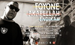 Foyone, Akapellah y Endikah en Vigo