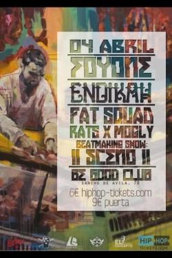 Foyone, Endikah, Fat Squad, Rats x Mogly y más en Barcelona