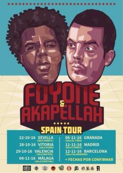 Foyone y Akapellah en Granada