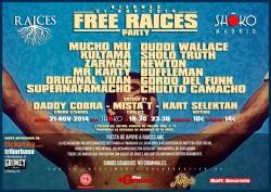 Free Raíces Party en Madrid