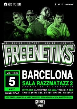 Freenetiks en Barcelona