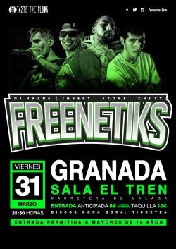 Freenetiks en Granada
