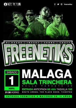 Freenetiks en Málaga
