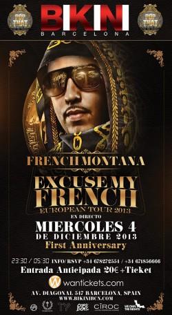 French Montana en Barcelona