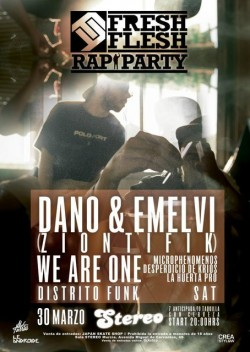 Fresh Flesh Rap Party en Murcia