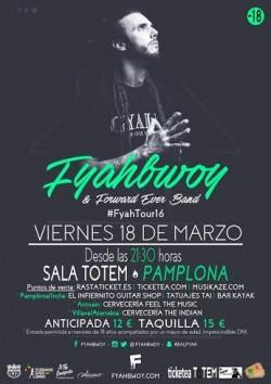 Fyahbwoy en Pamplona