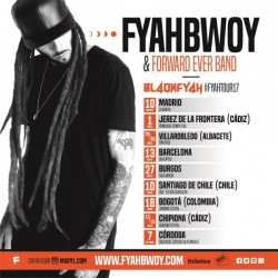 Fyahbwoy y Forward ever band en Cóordoba