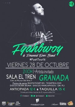 Fyahbwoy y Forward ever band en Granada