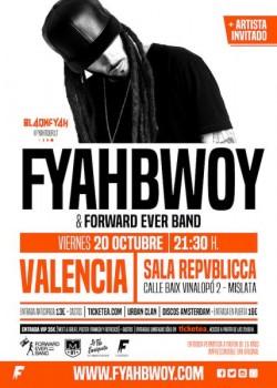 Fyahbwoy y Forward ever band en Mislata