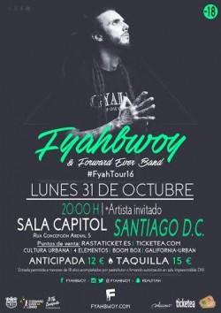 Fyahbwoy y Forward ever band en Santiago De Compostela