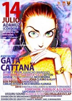 Gata Cattana Festival 2018 en Adamuz