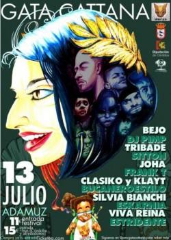 Gata Cattana Festival 2019 en Adamuz