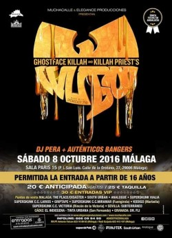 Ghostface Killah y Killah Priest en Málaga