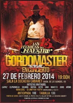 Gordo Master presenta disco en Málaga