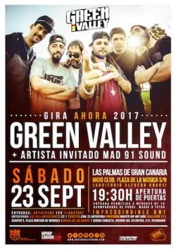 """Green Valley presenta """"Ahora"""" en Las Palmas de Gran Canaria"""