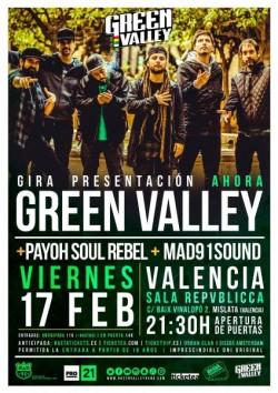 """Green Valley presenta """"Ahora"""" en Mislata"""