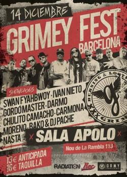 Grimey Fest en Barcelona