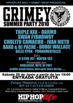 Grimey Summer Party 2010