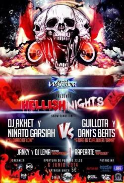 Hellish nights en Sevilla