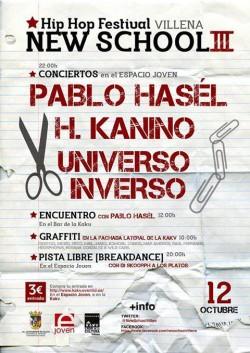 Hip Hop Festival New School III en Villena