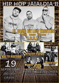 Hip Hop Jaialdia II en Urretxu