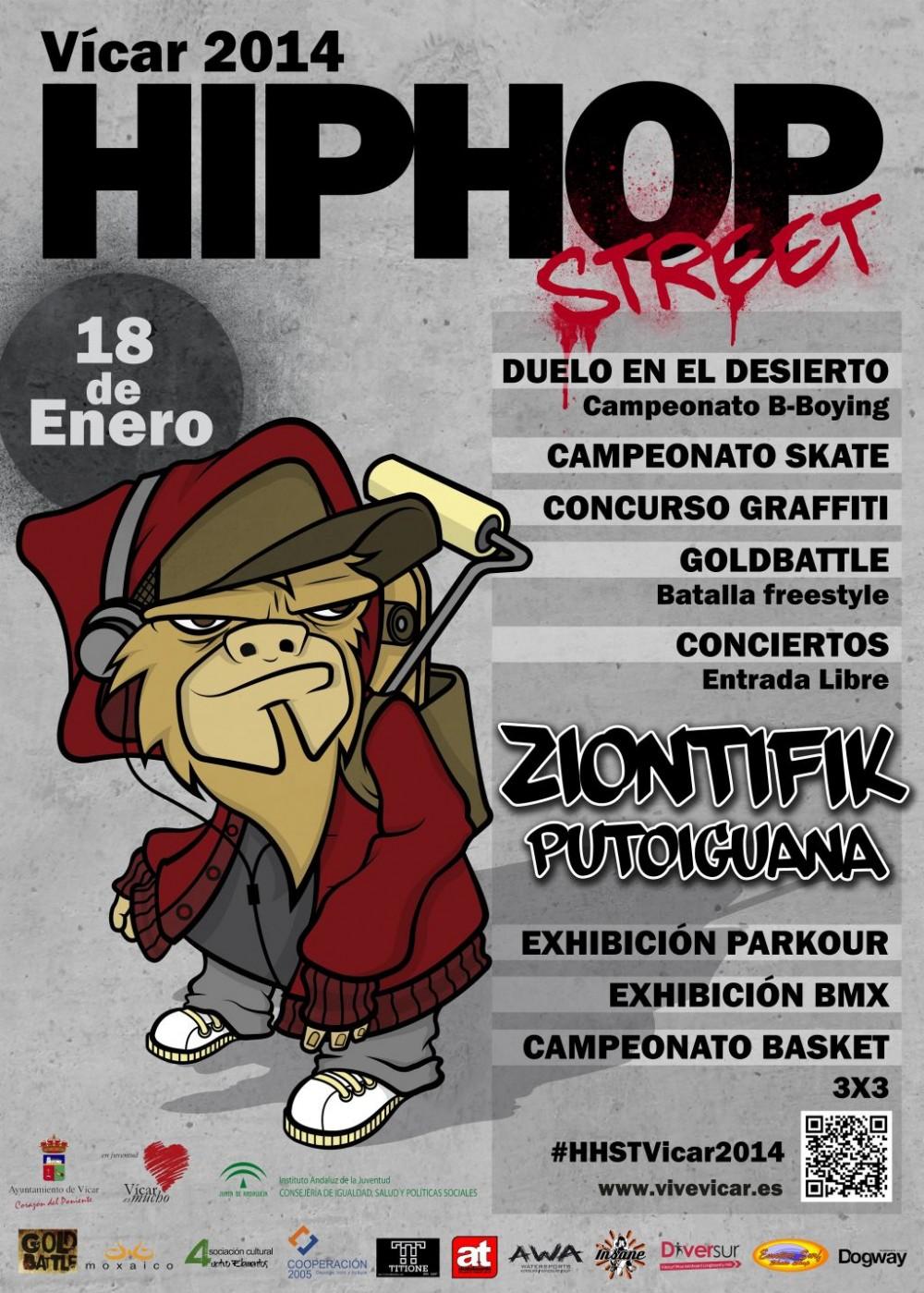 4d675eb9e8aa4 Hip Hop Street Fest 2014 en Vicar » Concierto Hip Hop Groups