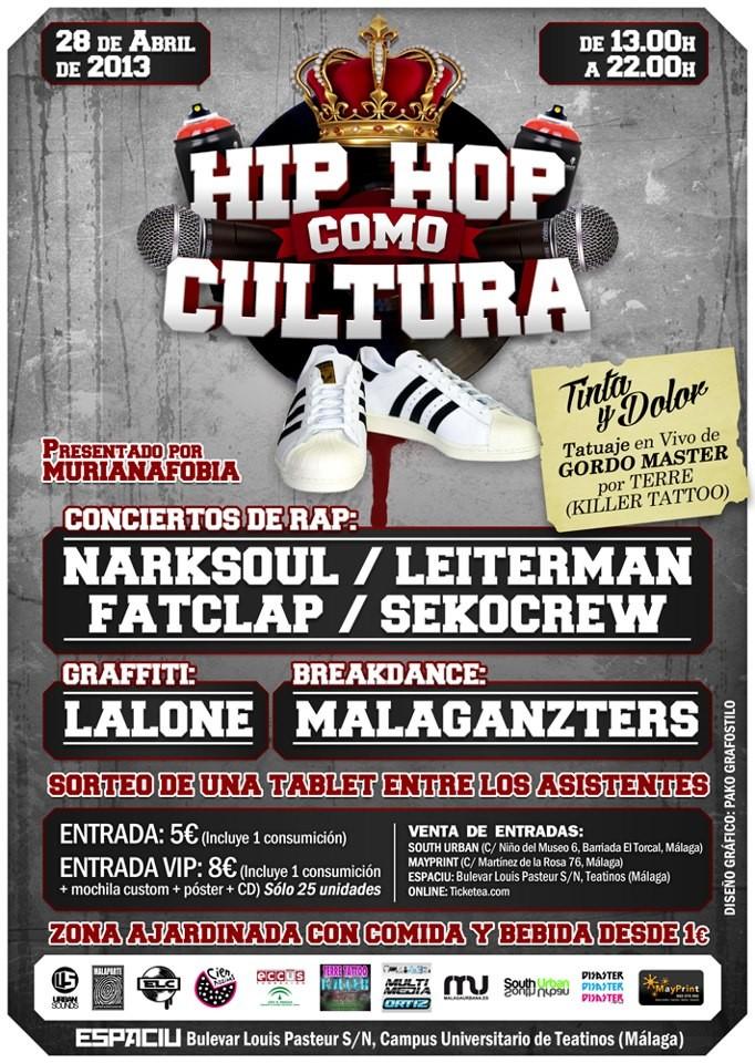 1828b97601107 Hip Hop como cultura en Málaga » Concierto Hip Hop Groups