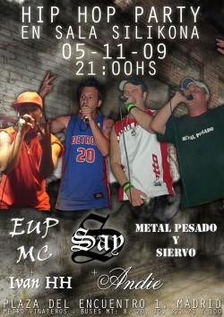 Hip Hop en Silikona en Madrid