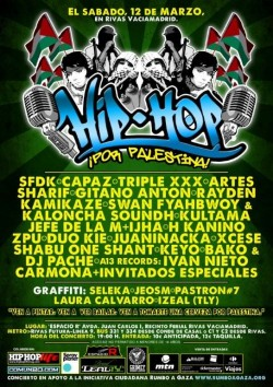 Hip Hop por Palestina 2011 Madrid