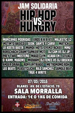 Hip Hop vs Hungry en Blanes