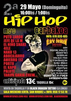 Hip hop barbakoa en San roque en San Roque