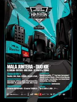 Hipnotik Festival 2013 - Décimo aniversario en Barcelona