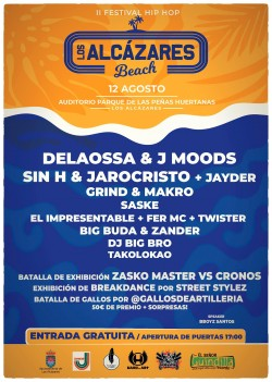 II Festival de HipHop Los Alcázares Beach en Los Alcázares