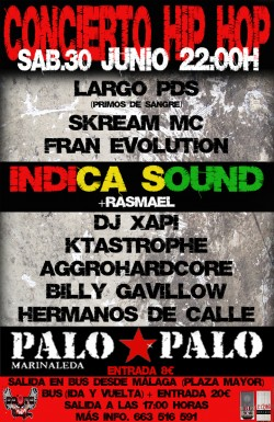 Indica Sound & Rasmael en Sevilla en Marinaleda